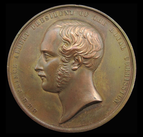 1851 Great Exhibition 'Exhibitor' Medal - By Wyon