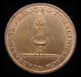 Middlesex Lyceum c.1795 Halfpenny Token - DH362b - EF