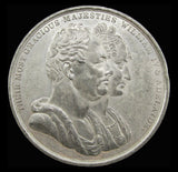 1831 Coronation Of William IV White Metal Medal - By Ingram