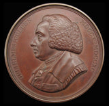 1908 University Of Glasgow William Cullen 70mm Award Medal