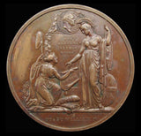 1832 Reform Bill 51mm Bronze Medal - By Wyon