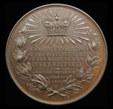 1887 Victoria Golden Jubilee 32mm Bronze Medal By Heaton - Cased