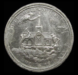 1688 Stability Of The Anglican Church 40mm White Metal Medal