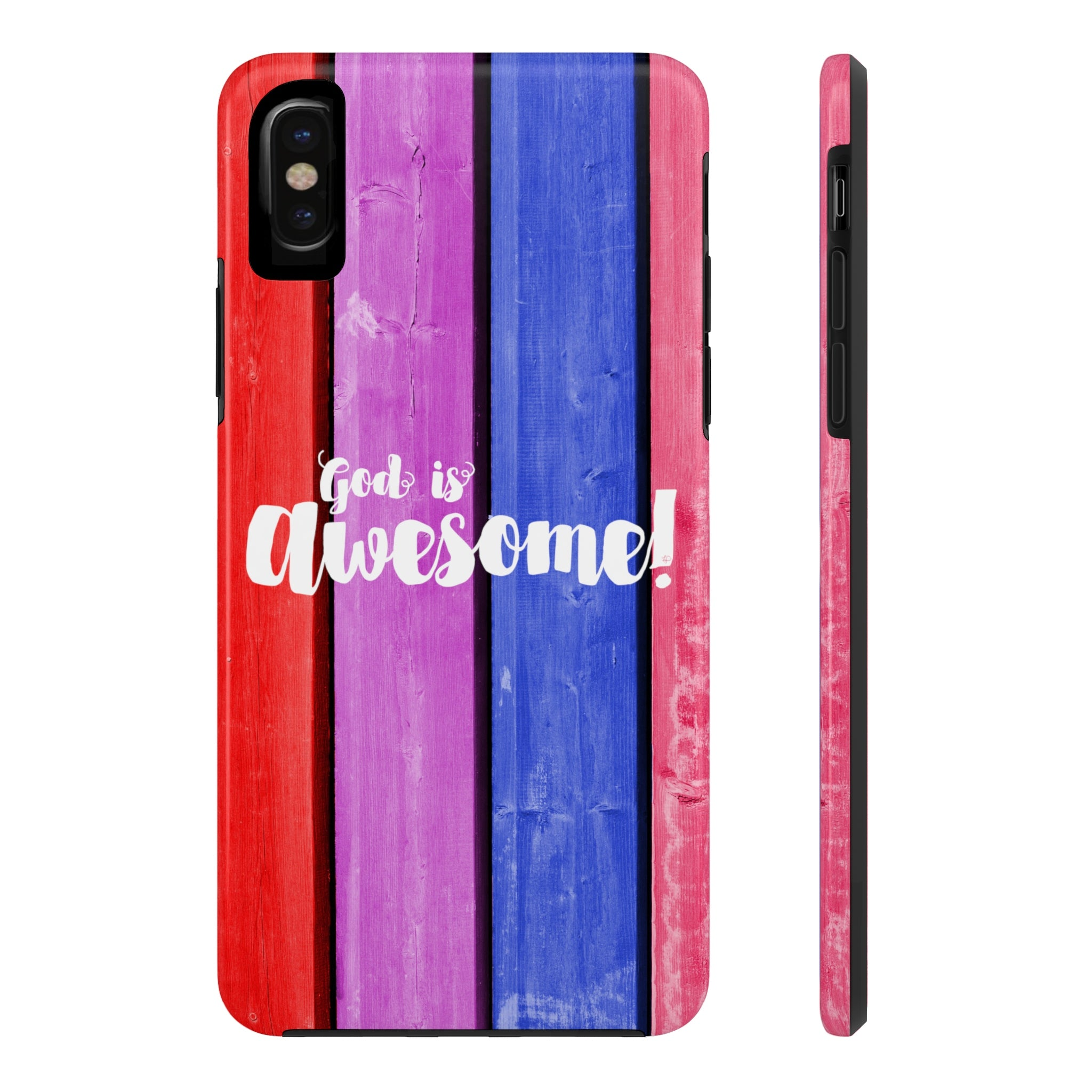 God Is Awesome Case·Mate Tough iPhone X, 8(Plus), 7(Plus) Case