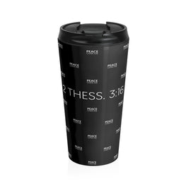 Peace Over Me 3 Stainless Steel Travel Mug