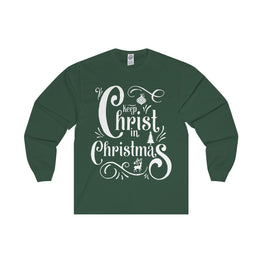 Keep Christ in Christmas Long Sleeve Tee
