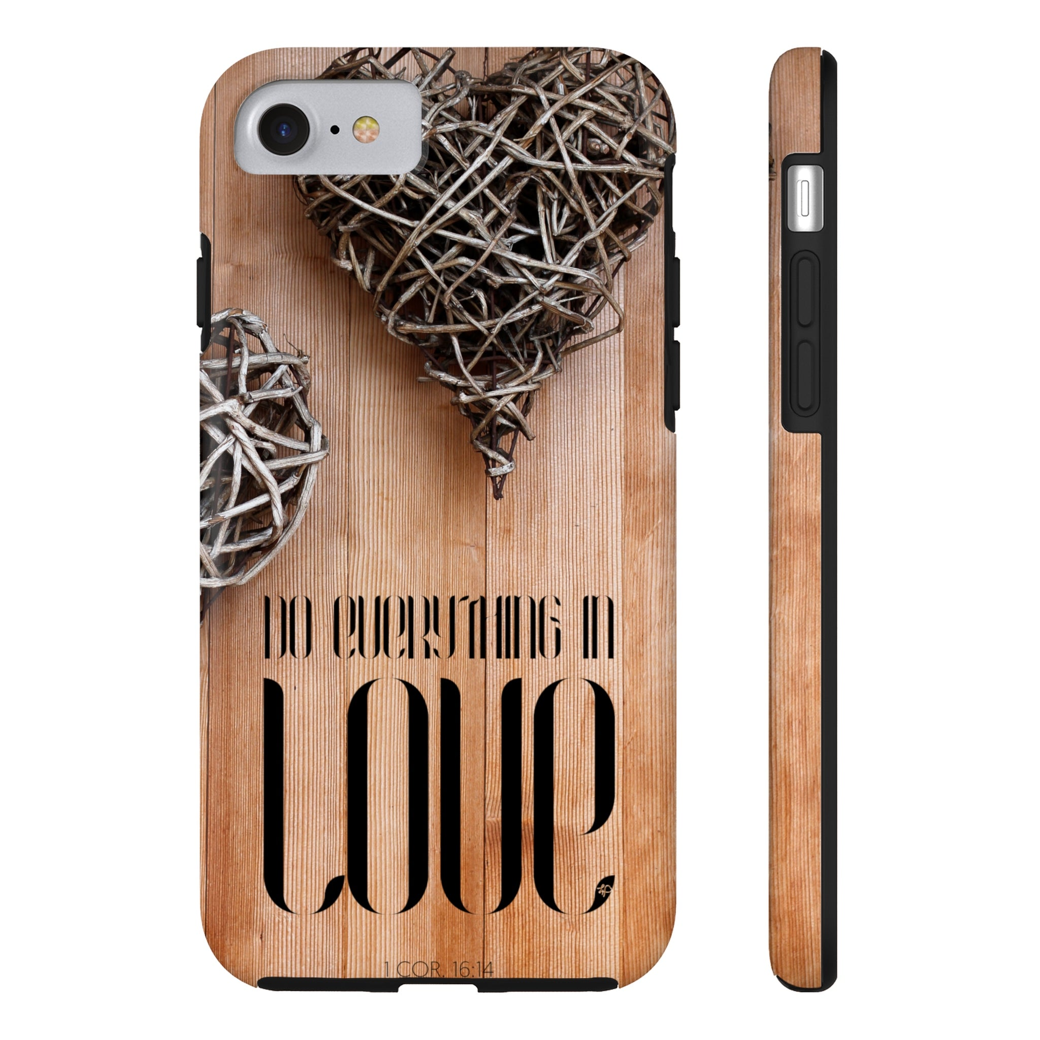 Do Everything In Love Case·Mate Tough iPhone X, 8(Plus), 7(Plus) Case