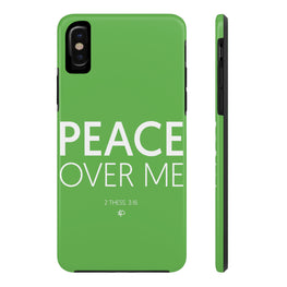 Peace Over Me Case·Mate Tough iPhone X, 8(Plus), 7(Plus) Case