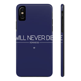 Will Never Die 2 Case·Mate Tough iPhone X, 8(Plus), 7(Plus) Case