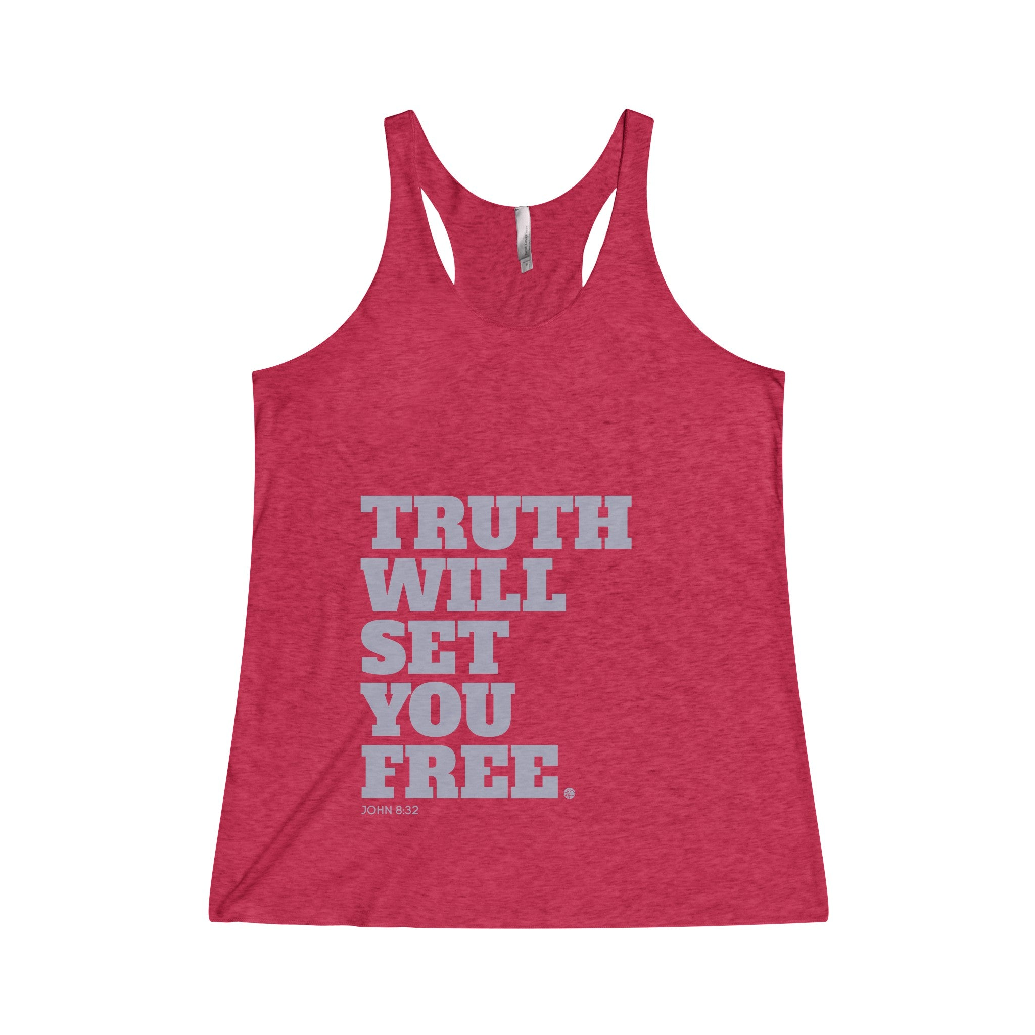 Truth Will Set You Free Women's Tri-Blend Racerback Tank