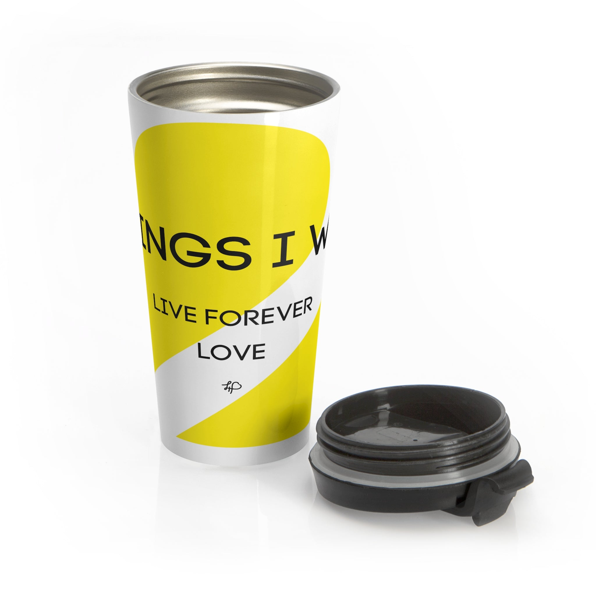 2 Things I Want: Stainless Steel Travel Mug