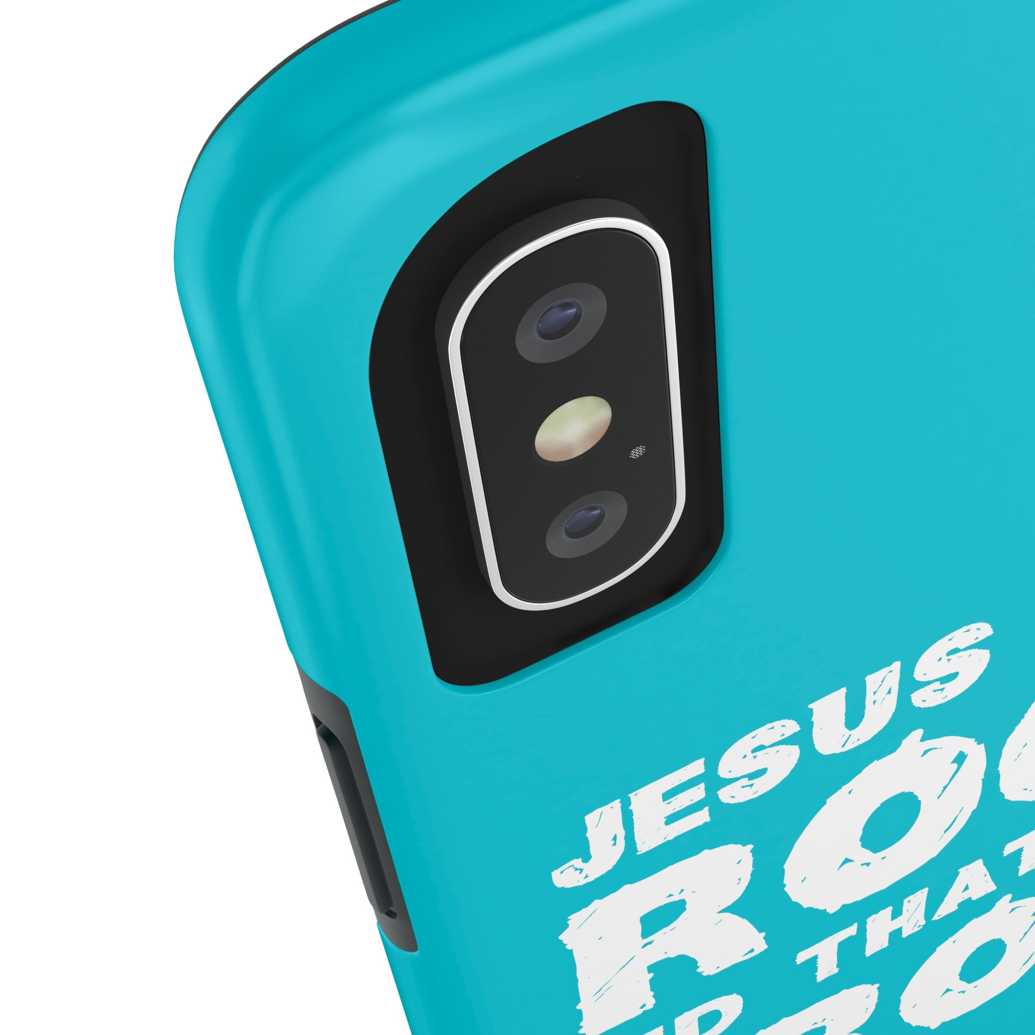 Jesus Is My Rock And That's How I Roll Case·Mate Tough iPhone X, 8(Plus), 7(Plus) Case