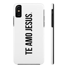 Te Amo Jesus Case·Mate Tough iPhone X, 8(Plus), 7(Plus) Case