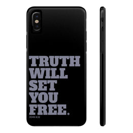 Truth Will Set You Free Case·Mate Tough iPhone X, 8(Plus), 7(Plus) Case