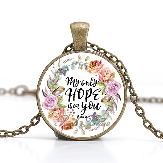 My Only Hope Is in You Necklace