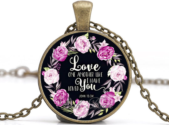Love One Another Like I Have Loved You Necklace