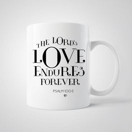 The Lord's Love Endures Forever Mug