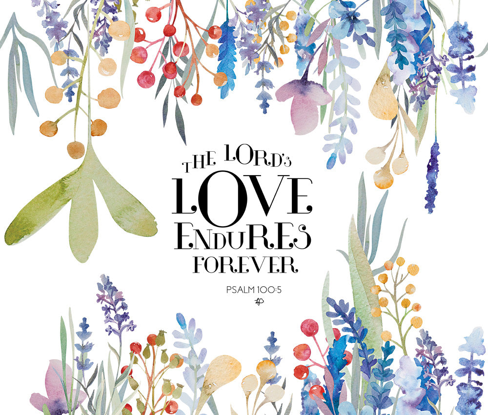 The Lord's Love Endures Forever Stainless Steel Travel Mug