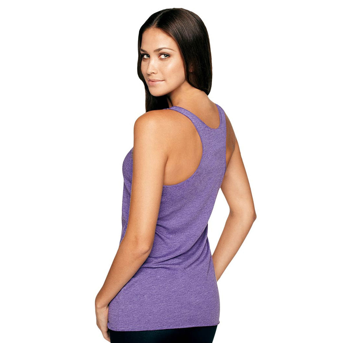 Empowered Women's Tri-Blend Racerback Tank