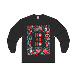 Ho Ho Ho Long Sleeve Tee