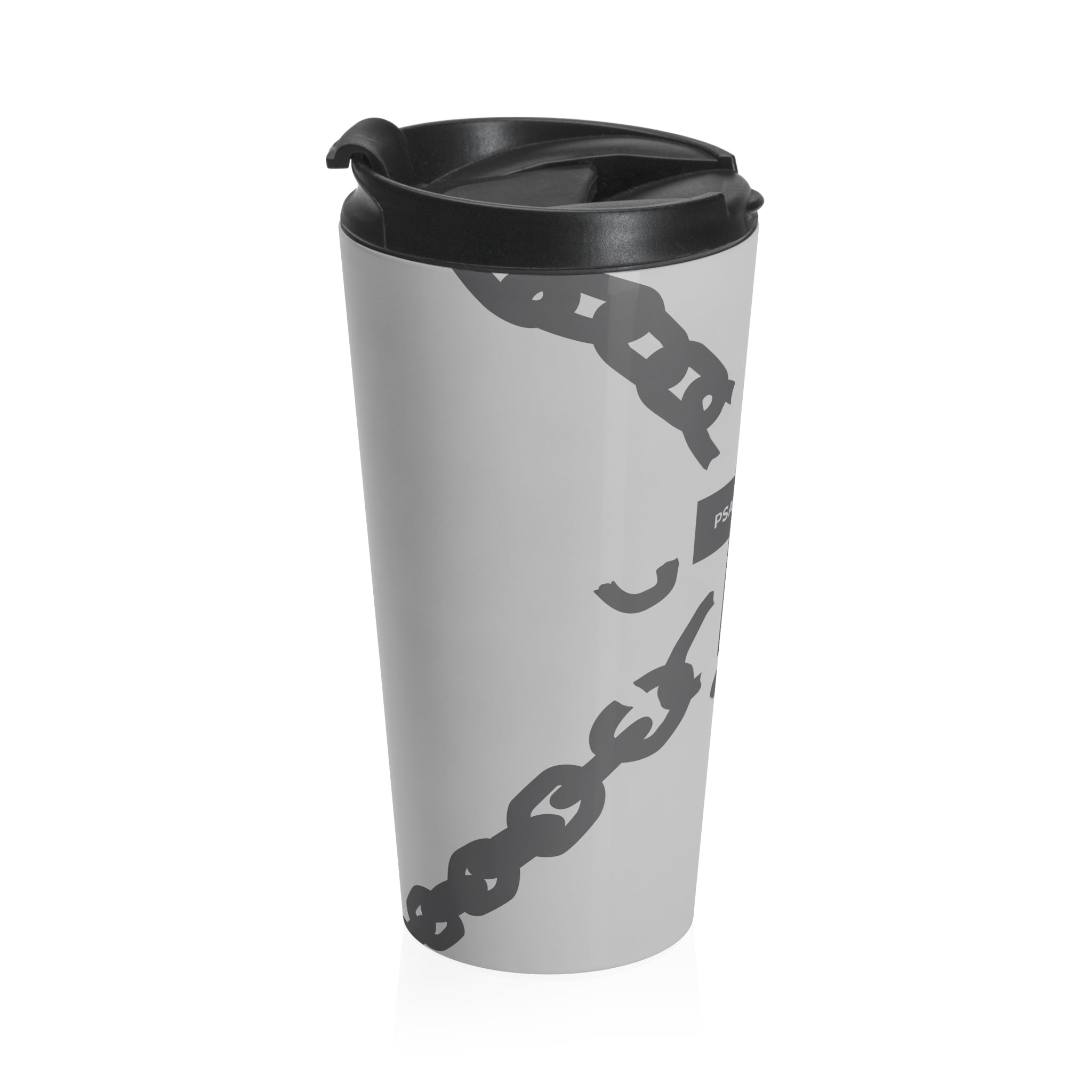 Broken Chain Stainless Steel Travel Mug