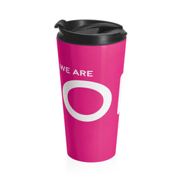 We Are One in Christ Stainless Steel Travel Mug
