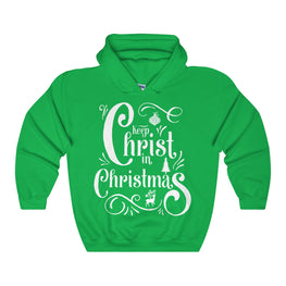 Keep Christ in Christmas Hoodie