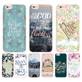 Bible verse Christian Phone Case for Apple iPhone X 8 7