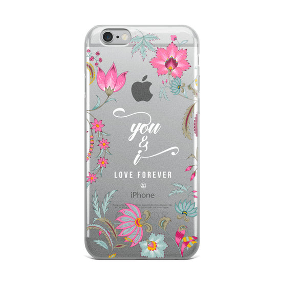 You & I, Love Forever iPhone Case