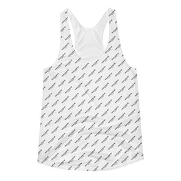 Peace Over Me Women's All-Over Print Racerback Tank