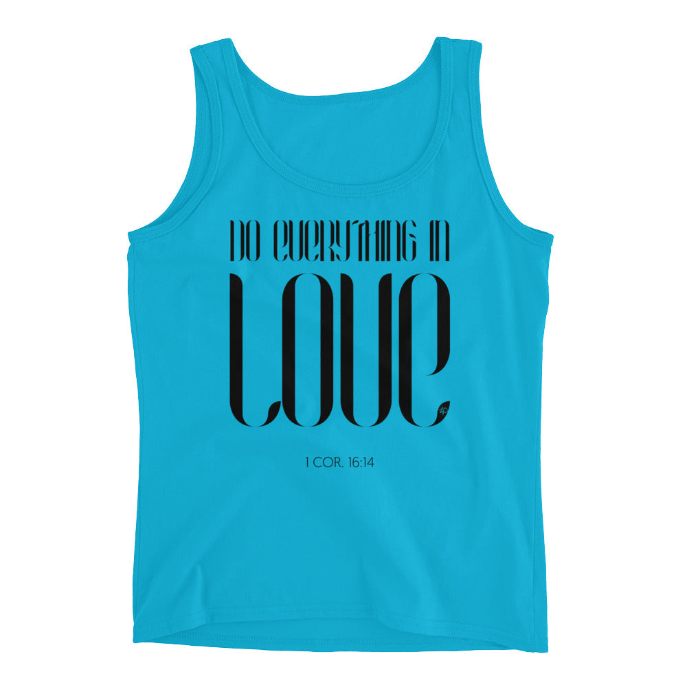 Do Everything In Love Women's Tank Top
