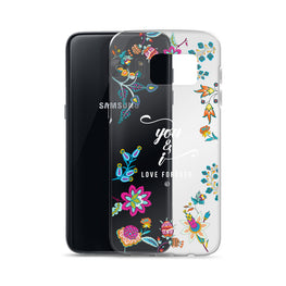 You & I, Love Forever Samsung Galaxy Phone Case