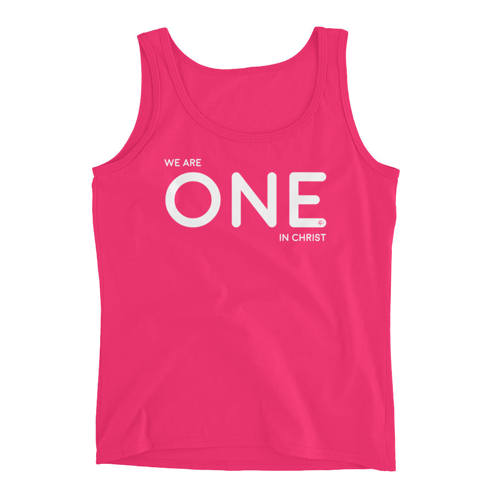 We Are One in Christ Women's Tank Top