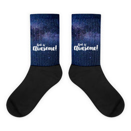 God Is Awesome Socks