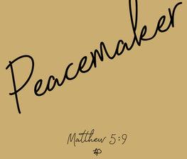 Peacemaker Stainless Steel Travel Mug