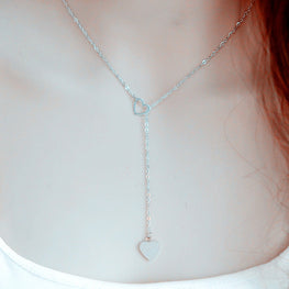 Heart Delicate Pendant Necklace