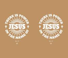 There Is Power In the Name of Jesus Stainless Steel Travel Mug