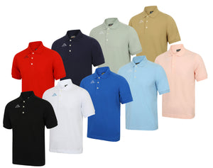 Kappa Mens Life Pure Pique Cotton Polo Shirt