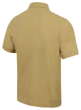 Kappa Mens Life Brown Pure Pique Cotton Polo Shirt