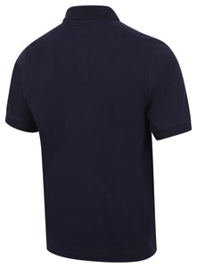 Kappa Mens Life Navy Pure Pique Cotton Polo Shirt