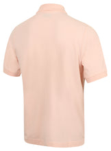 Kappa Mens Life Pink Pure Pique Cotton Polo Shirt