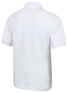 Kappa Mens Life White Pure Pique Cotton Polo Shirt