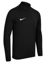 Nike Men's Academy 16 Black Dri-Fit Quarter Zip Midlayer Training Top