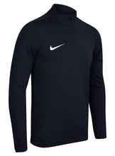 Nike Men's Academy 16 Navy Dri-Fit Quarter Zip Midlayer Training Top