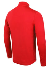 Nike Men's Academy 16 Red Dri-Fit Quarter Zip Midlayer Training Top