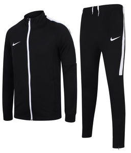Nike Men's Dry Academy Black Dri-Fit Polyester Warm Up Full Tracksuit