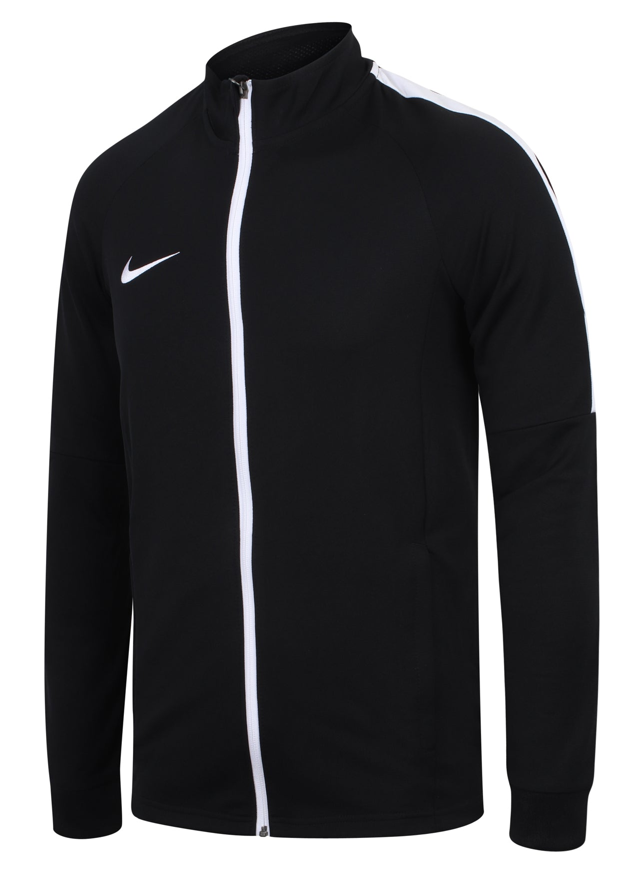 wholesale dealer f3ed4 1a84f ... Nike Mens Dry Academy Black Dri-Fit Polyester Warm Up Full Tracksuit  ...