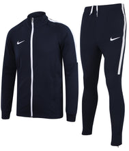 Nike Men's Dry Academy Navy Dri-Fit Polyester Warm Up Full Tracksuit