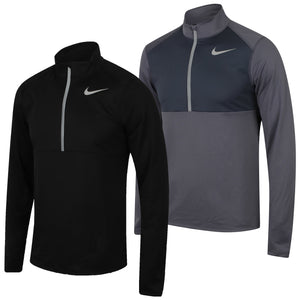 Nike Men's Dry Half Zip Dri-Fit Long Sleeve Running Top