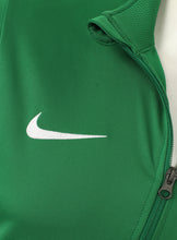 Nike Mens Dry Park 18 Dri-Fit Full Zip Track Jacket - AA2059-302 - Green Logo